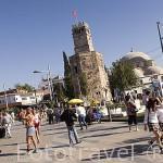El centro historico de la ciudad de ANTALYA. Turquia