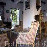 Interior del hotel Turk Evi en el casco historico de la ciudad de ANTALYA. Turquia