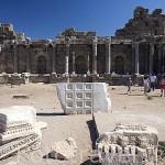 Ruinas de la ciudad de SIDE, siglo VII a.C. Provincia de Antalya. Turquia