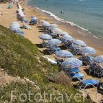 Playa junto a las ruinas de SIDE. Provincia de Antalya. Turquia