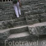 Teatro romano de ASPENDO. Tiene una excelente acustica. Provincia de Antalya. Turquia