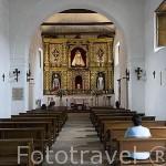 Interior. Iglesia de la Merced (data de 1536, barroco sencillo). Santiago de CALI. Valle del Cauca. Colombia