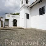 Iglesia de la Merced (data de 1536, barroco sencillo). Santiago de CALI. Valle del Cauca. Colombia