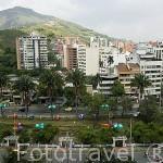 Vista panoramica. Santiago de CALI. Valle del Cauca. Colombia