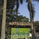 Entrada. Ecoparque del rio Pance. Alrededores Santiago de CALI. Valle del Cauca. Colombia