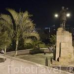 Mirador de la estatua de Sebastian de Belalcazar. Santiago de CALI. Valle del Cauca. Colombia