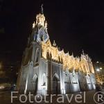 Iglesia de la Ermita. (estilo Neogotico). Santiago de CALI. Valle del Cauca. Colombia