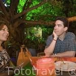 Restaurante Yagé, situado en el Zoologico de la ciudad. Santiago de CALI. Valle del Cauca. Colombia