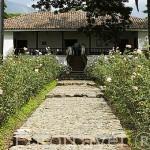 La Hacienda El Paraiso. Mansion colonial donde vivio Jorge Isaac. Valle del Cauca. Colombia