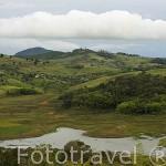 Vista parcial del lago Calima. A 75 Kms. de la ciudad de CALI. Valle del Cauca. Colombia