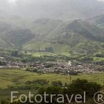 Vista de DARIEN, situado a unos 75 Kms. de la ciudad de Santiago de CALI. Valle del Cauca. Colombia