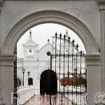 Cementerio municipal de 1845. Ciudad colonial de MOMPOX. Patrimonio de la Humanidad, UNESCO. Isla más grande de Suramerica. Colombia. Suramerica