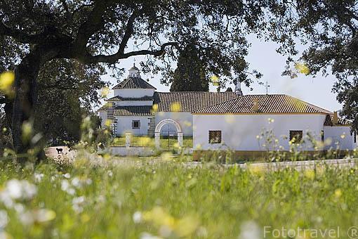 Santuario de Virgen de Luna. Cerca de VILLANUEVA DE CORDOBA. Comarca de Los Pedroches. Cordoba. España