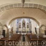 Iglesia. Convento de Santa Clara de la Columna. Fundado en 1476 por Doña Elvira de Zuñiga. BELALCAZAR. Comarca de Los Pedroches. Cordoba. España