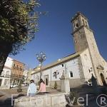 Iglesia parroquial de San Miguel, mediados s. XVI, reedificada en S.XVIII. VILLANUEVA DE CORDOBA. Comarca de Los Pedroches. Cordoba. España