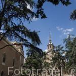 Plaza monasterio y Museo de San Bernardo. ALCALA DE HENARES. Ciudad patrimonio Unesco. Madrid. España