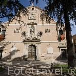 Fachada del museo monasterio de San Bernardo. ALCALA DE HENARES. Ciudad patrimonio Unesco. Madrid. España