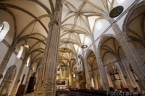 Catedral Magistral (titulo que comparte con la catedral de Lovaina en Belgica) de los Santos Justo y Pastor. Gotico tardio. ALCALA DE HENARES. Ciudad patrimonio Unesco. España
