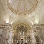 Ermita de San Isidro. Fundada en 1690 por Juan Castillejo. Barroco. Pintura mural realizada por Laredo, 1885. Ciudad Patrimonio de Humanidad. ALCALA DE HENARES. Madrid. España