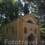 La Ermita. Jardin historico artistico (s. XVIII) El Capricho. Madrid capital. España