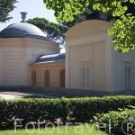 Edificio del Abejero. Jardin historico artistico (s. XVIII) El Capricho. Madrid capital. España