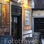 Bar- restaurante La Fragua de Vulcano. Calle Nuñez de Arce. Zona de Huertas. Madrid capital. España