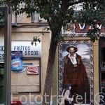 Venta El Buscon. Calle de la Victoria. Zona de Huertas. Madrid capital. España