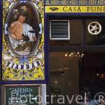 Bar Alhambra. Calle de la Victoria. Zona de Huertas. Madrid capital. España