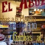 Bar La Casa del Abuelo. Calle de la Victoria. Zona de Huertas. Madrid capital. España