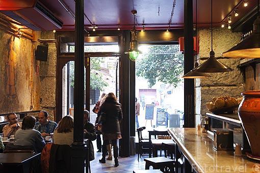 Venta El Buscon. Calle Victoria 5. Barrio de Huertas. Madrid. España