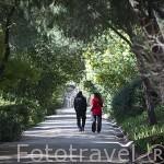 Parque Quinta de los Molinos. Distrito de San Blas. Ciudad de Madrid. España