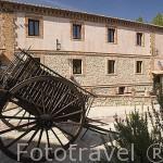 Fachada de la casa rural Caseron de la Fuente. ALBARRACIN. Teruel. España