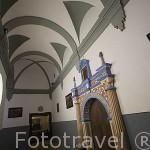 Claustro. Interior de la catedral de ALBARRACIN. Teruel . España