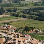 El pueblo de EL POYO DEL CID. Municipio de Calamocha. Teruel. España