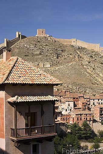 Pueblo amurallado de ALBARRACIN. Teruel. España