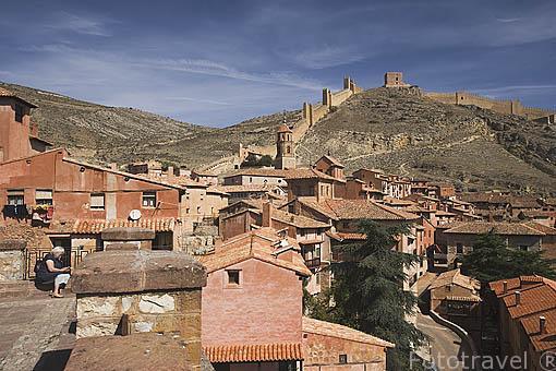 Pueblo de ALBARRACIN. Teruel. España