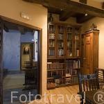 Sala de estar. Primer piso. Hotel rural Casa Valero. JARQUE DE LA VAL. Teruel. España