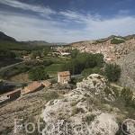 Vista panoramica del pueblo de MONTALBAN. Teruel. España