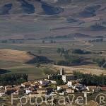 Vista del pueblo de JARQUE DE LA VAL. Teruel. España