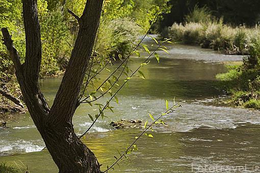 Rio Albarracin Superior. Discurre cerca del pueblo de Albarracin. Teruel. España
