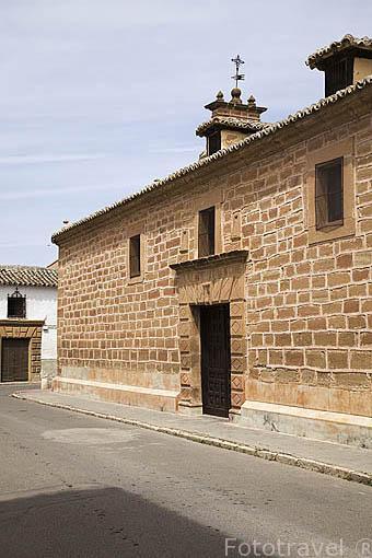 Ermita del Cristo de Santa Ana. VILLAFRANCA DE LOS CABALLEROS. Provincia de Toledo. Castilla La Mancha. España - Spain