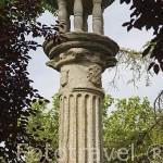 Rollo jurisdiccional, s.XVI Convertida en villa por Felipe II. Población de MADRIDEJOS. Provincia de Toledo. Castilla La Mancha. España - Spain