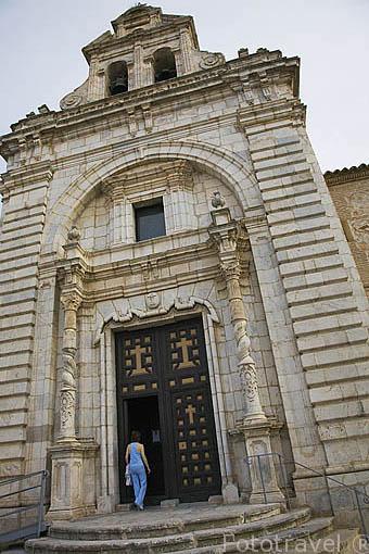 Ermita del Santisimo Cristo de la Vera Cruz. s.XVIII. Población de CONSUEGRA. Provincia de Toledo. Castilla La Mancha. España - Spain