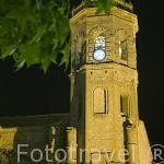 Torre de la iglesia de la Asunción. Población de TEMBLEQUE. Provincia de Toledo. Castilla La Mancha. España - Spain