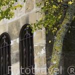 Detalle de la ermita Virgen de San Cristobal,(s.XX) UNCASTILLO. Zaragoza. Aragon. España