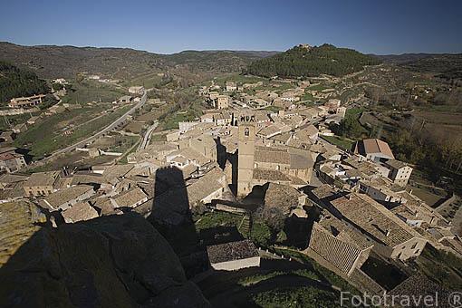 Pueblo de UNCASTILLO. Zaragoza. Aragon. España