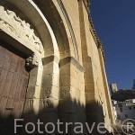 Iglesia de San Felices, romanica, S.XII. UNCASTILLO. Zaragoza. Aragon. España