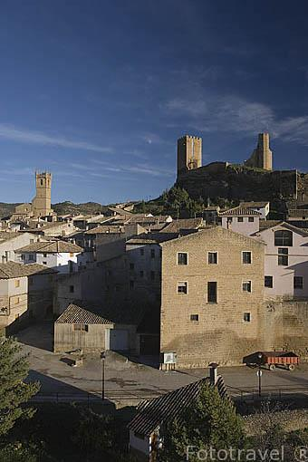 El pueblo de UNCASTILLO. Zaragoza. Aragon. España