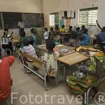 Pequeña escuela en el poblado de FANAYE WALO. Norte de Senegal
