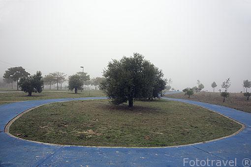 Parque en Paracuellos del Jarama. Madrid. España